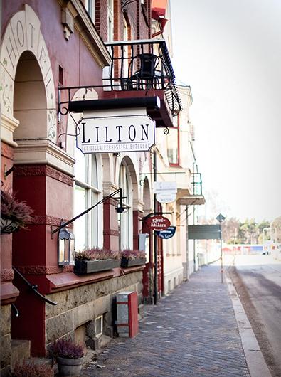 Välkommen till Hotel Lilton i Ängelholm
